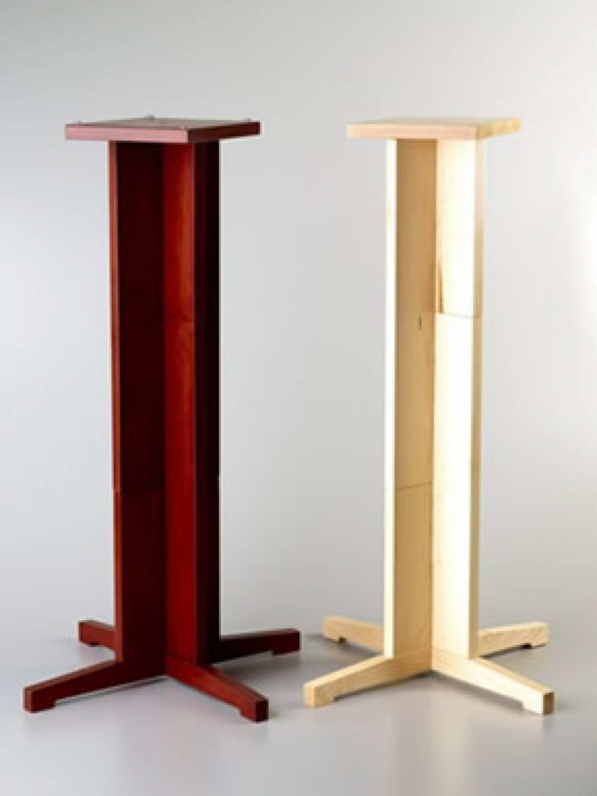 Soundsmith Versa Stands Are Solid Wood Speaker Designed To Provide The Finest Presentation From Your Or Other Stand Mount Speakers